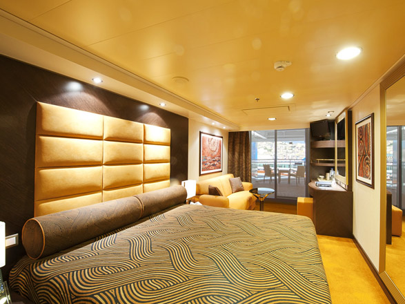 Photo cabine MSC Splendida  - Cabine avec balcon