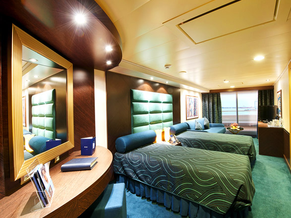 photo cabine ab MSC Splendida - Suite