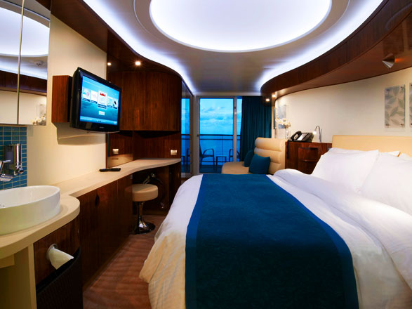Photo cabine Norwegian Epic  - Cabine avec balcon