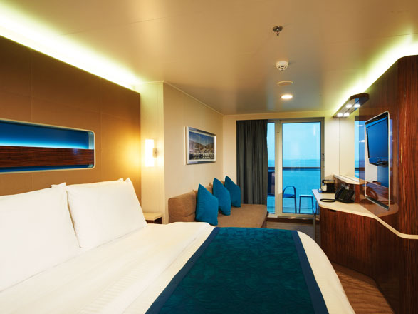 Photo cabine Norwegian Getaway  - Cabine avec balcon