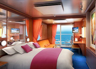 Photo cabine Norwegian Pearl  - Cabine Suite