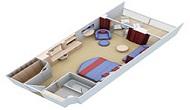 Photo cabine Oasis of the Seas