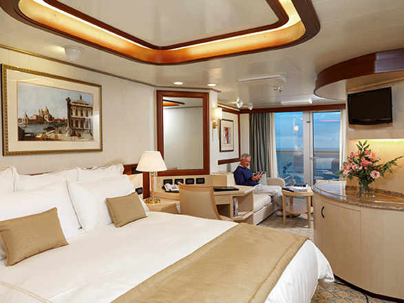 Photo cabine Queen Elizabeth  - Suite
