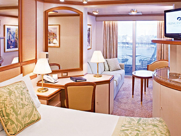 photo cabine ab Sapphire Princess - Suite