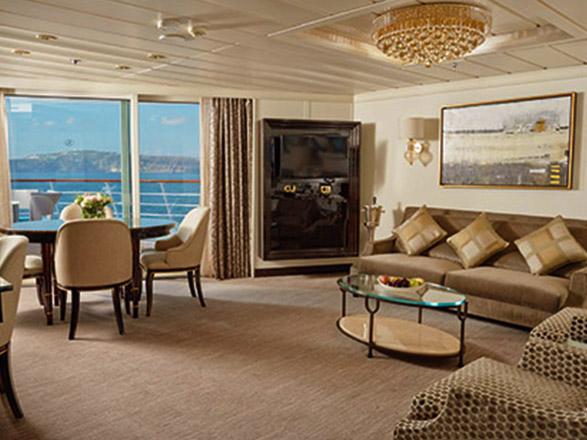 Photo cabine Seven Seas Mariner  - Suite