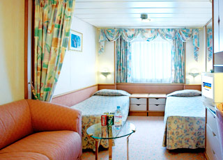 Photo cabine Splendour of the Seas  - Cabine extérieure