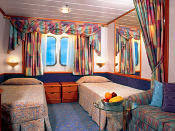 photo cabine ab Vision of the Seas - Cabine avec balcon