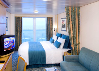Photo cabine Voyager of the Seas  - Cabine avec balcon