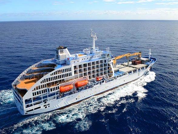 Croisière Iles des Marquises, Tuamotu et îles de la Société en Cargo-mixte (2)
