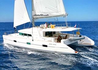 Nouvel An à bord du Catamaran Catlante 600