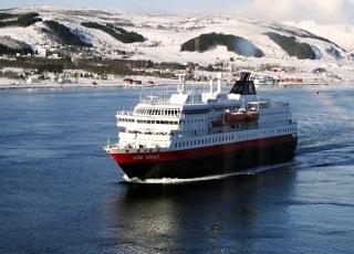 Fêter Noël à bord du MS Kong Harald