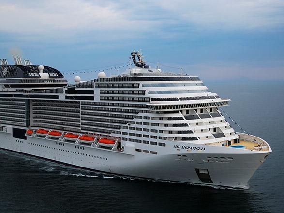 photo ab navire MSC Meraviglia
