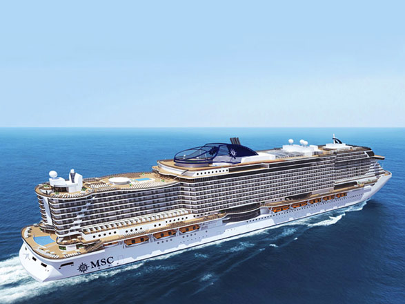 Nouvel An à bord du MSC Seaside