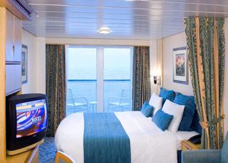 Foto cabina Adventure of the Seas  - Cabina con balcone