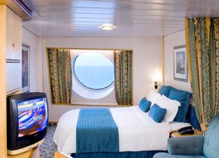 Foto cabina Adventure of the Seas  - Cabina esterna