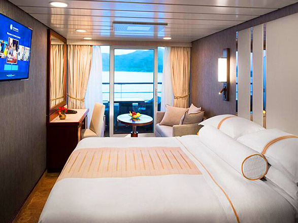Foto cabina Azamara Journey  - Cabina con balcone