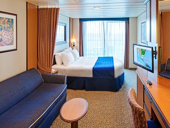 Foto cabina Brilliance of the Seas  - Cabina con balcone