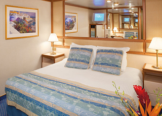 Foto cabina Caribbean Princess  - Cabina interna