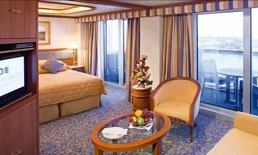 Foto cabina Caribbean Princess  - Cabina suite