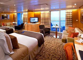 Foto cabina Celebrity Constellation  - Cabina suite