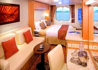 Foto cabina Celebrity Equinox  - Cabina esterna