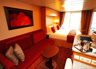 Foto cabina Celebrity Silhouette  - Cabina con balcone