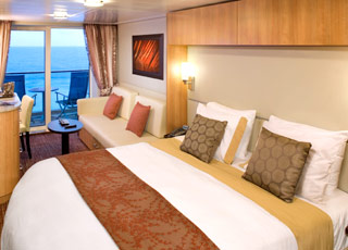 Foto cabina Celebrity Solstice  - Cabina con balcone
