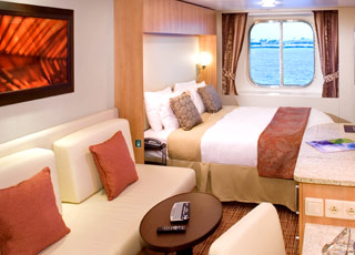 Foto cabina Celebrity Solstice  - Cabina esterna