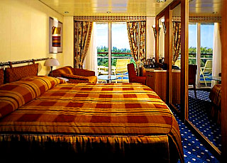 Foto cabina Celebrity Summit  - Cabina con balcone