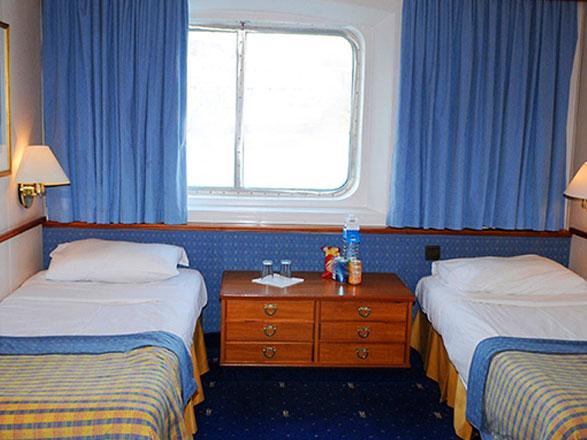 Foto cabina Celestyal Cristal  - Cabina esterna