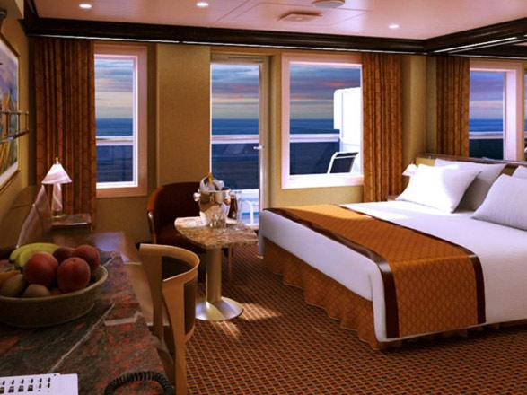 Foto cabina Costa Diadema  - Cabina con balcone