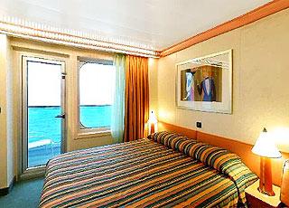 Foto cabina Costa Fortuna  - Cabina con balcone
