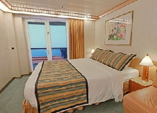 Foto cabina Costa Mediterranea  - Cabina con balcone