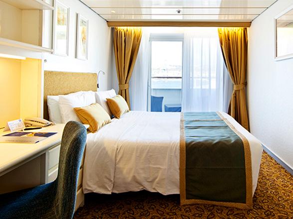 Foto cabina Horizon  - Cabina con balcone