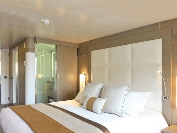 Foto cabina Le Boréal  - Cabina con balcone