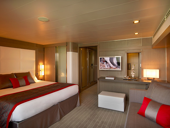 Foto cabina Le Boréal  - Cabina suite