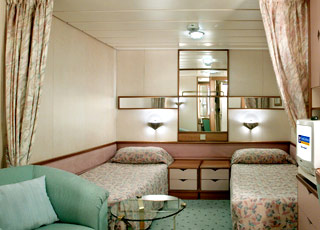 Foto cabina Legend of the seas  - Cabina interna