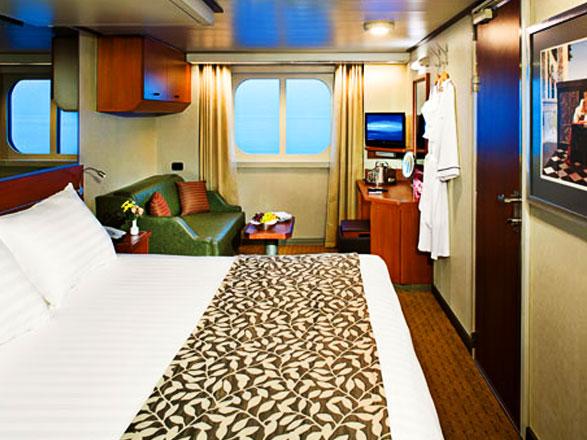 Foto cabina MS Eurodam  - Cabina esterna