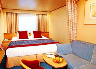 Foto cabina MS Volendam  - Cabina esterna