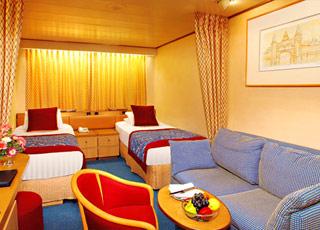 Foto cabina MS Volendam  - Cabina interna