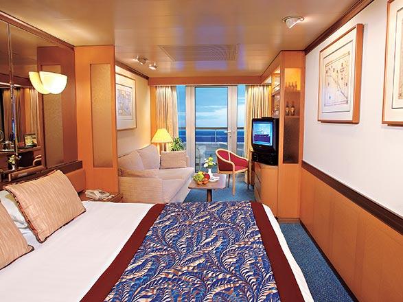 Foto cabina MS Zaandam  - Cabina suite