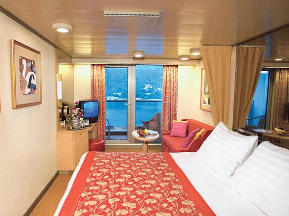 Foto cabina MS Zuiderdam  - Cabina con balcone