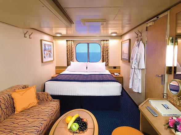 Foto cabina MS Zuiderdam  - Cabina esterna