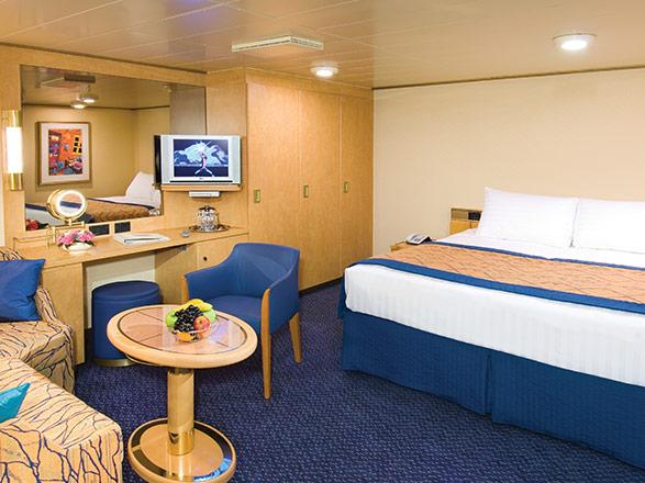 Foto cabina MS Zuiderdam  - Cabina interna