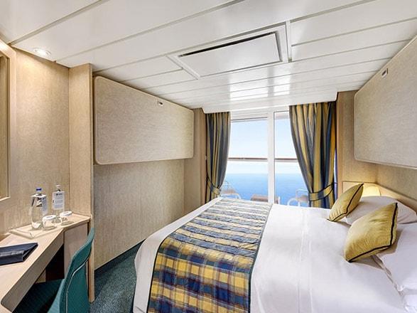 Foto cabina MSC Lirica  - Cabina con balcone