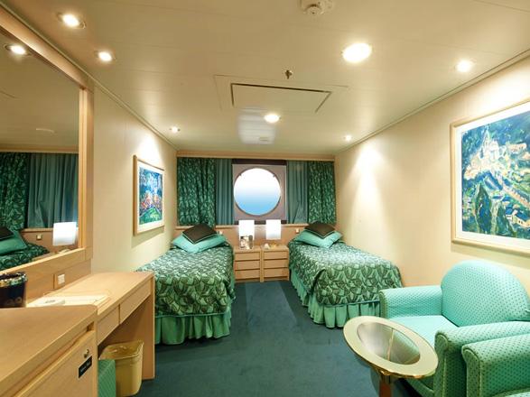 Foto cabina MSC Musica  - Cabina esterna