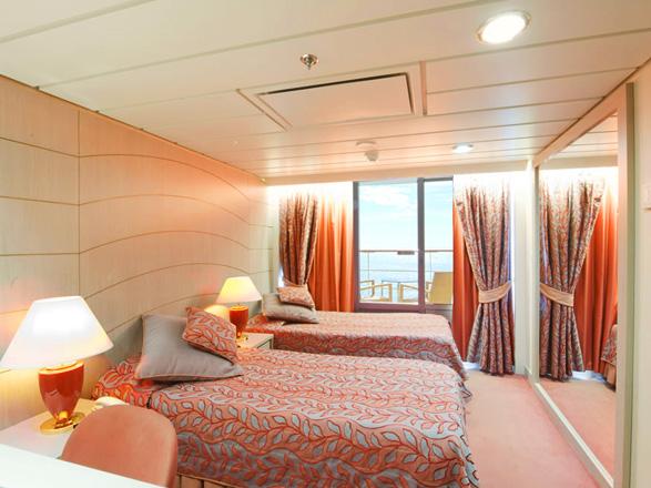 Foto cabina MSC Opera  - Cabina con balcone
