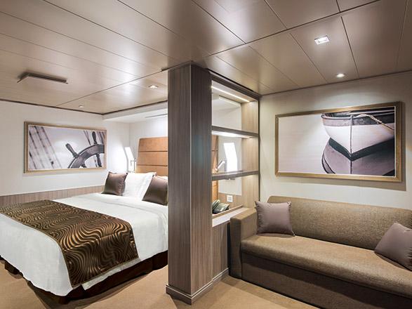 Foto cabina MSC Seaside  - Cabina suite