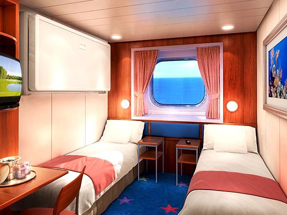 Foto cabina Norwegian Dawn  - Cabina esterna