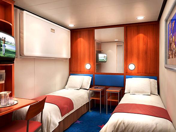 Foto cabina Norwegian Dawn  - Cabina interna